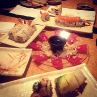 Photo taken at Sushi Island by Callie P. on 11/16/2012
