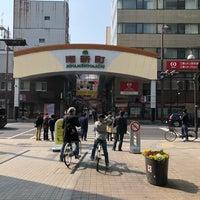 Photo taken at Minamishinmachi Shotengai by Anthony L. on 3/25/2018