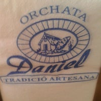 Photo taken at Orxateria Daniel by Vicente O. on 9/14/2012