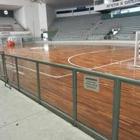 Photo taken at Arena Santos by Sylvio O. on 7/16/2013