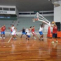 Photo taken at Arena Santos by Sylvio O. on 4/28/2013