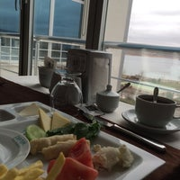 Photo taken at otel restuarant by Hale E. on 3/14/2014