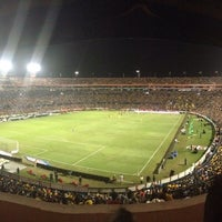 Photo taken at Estadio Universitario by Aldo mikhail S. on 10/30/2013