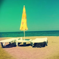 Photo taken at Sky Beach by KüBra A. on 7/5/2013