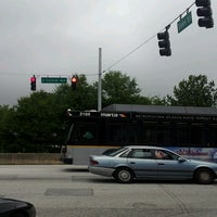 Photo taken at Sams Crossing & E College Intersection by Brian C on 8/19/2013