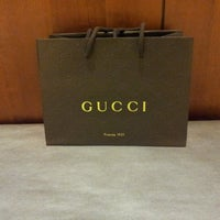 Photo taken at Gucci by Brian C on 11/1/2013