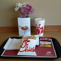 Photo taken at Chick-fil-A by Brian C on 4/1/2014
