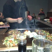 Photo taken at Fuji Japanese Steakhouse by Kent F. on 12/19/2012