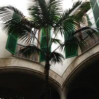 Photo taken at Patio de San Pedro y San Bernardo by Bebe on 5/21/2013