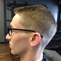 Photo taken at Bespoke Barber Shop by Bespoke B. on 6/30/2013