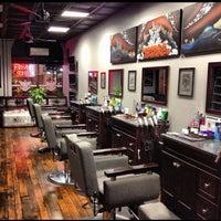 Photo taken at Bespoke Barber Shop by Bespoke B. on 12/7/2013