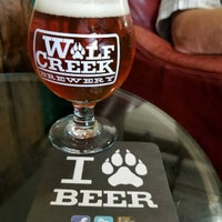 Photo taken at Wolf Creek Brewery by Robert W. on 7/30/2017