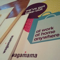Photo taken at wagamama by Ben F. on 4/20/2013