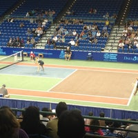 Photo taken at WTT Tennis Tournament by Sam on 7/25/2013