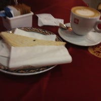 Photo taken at Caffe' Elite by Filippos D. on 12/1/2012