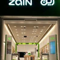Photo taken at Zain by Abdulkarim on 10/20/2014