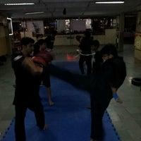 Photo taken at fighting fit dojo (mma) by Hemal S. on 2/26/2014