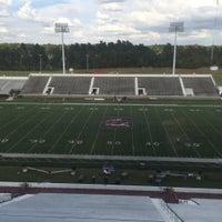 Photo taken at Oliver C. Dawson Stadium by Joshua J. on 9/17/2015
