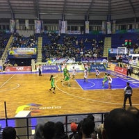 Photo taken at GOR C-Tra Arena by Rini A. on 9/24/2016