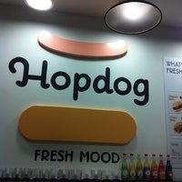 Photo taken at HopDog by Victoria W. on 1/26/2013