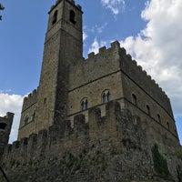 Photo taken at Castello di Poppi by Riccardo I. on 8/27/2017
