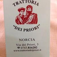 Foto scattata a Ristorante Dei Priori da Riccardo I. il 3/24/2016