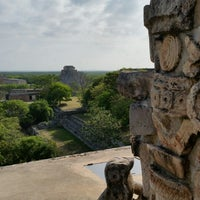 Photo taken at Uxmal by Frederico on 5/18/2014