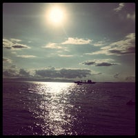 Photo taken at Пляж На Маяке by Margo *. on 7/17/2013