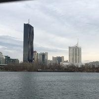 Photo taken at Reichsbrücke by Alexander N. on 12/11/2016