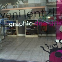 Photo taken at Veni Lentzi Graphic Designer by Venia P. on 11/3/2012