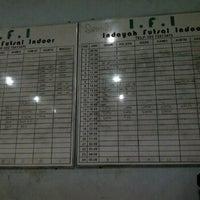 Photo taken at IFI Futsal Center by muhammad bima h. on 9/17/2012