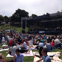 Photo taken at Symphony In the Park at Dolores Park by Richard B. on 7/21/2013