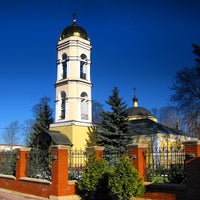 Photo taken at Храм Святителя Николая в Жегалово by Andrey B. on 3/9/2014