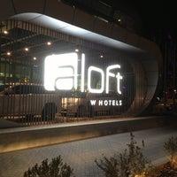 Photo taken at Aloft Abu Dhabi by Bader A. on 4/10/2013
