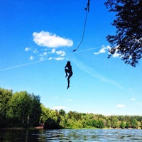 Photo taken at Озеро в Красногорском лесу by Вершинин ⚡ on 7/20/2014
