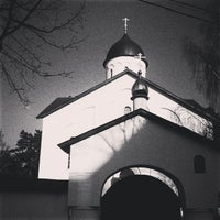 Photo taken at Храм Державной иконы Божьей Матери в Жуковском by Diana K. on 4/13/2014