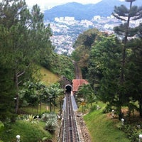 Photo taken at Penang Hill by Long M. on 11/21/2012