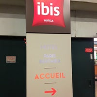 Photo taken at Ibis Berthier Porte de Clichy by Владислав И. on 9/21/2012