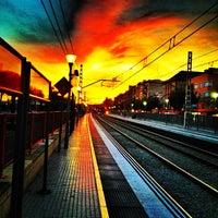 Снимок сделан в RENFE El Masnou пользователем msubirats 10/18/2012