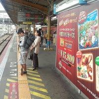 Photo taken at JR Nishikujō Station by Yutaka H. on 6/11/2013