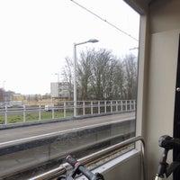 Photo taken at Metrostation Meijersplein by Robbie D. on 2/28/2017