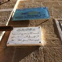 Photo taken at Mosquée Hammouda-Pacha by Moez B. on 2/16/2014
