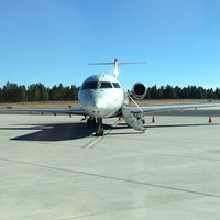 Photo taken at Flagstaff Pulliam Airport (FLG) by Jesse K. on 10/17/2012