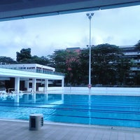 Photo taken at Swimming Pool @ Sports Complex by Derrick Elvin G. on 5/16/2014