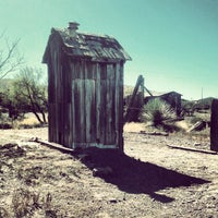 Photo taken at Steins Ghost Town by Gavin F. on 10/25/2012