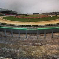Photo taken at Sittingbourne Greyhounds by Gavin F. on 6/19/2014