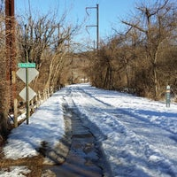 Photo taken at Schuylkill River Trail - Spring Mill by Shawn S. on 2/22/2014