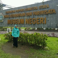 Photo taken at Museum Sumatera Utara by amj on 12/1/2016