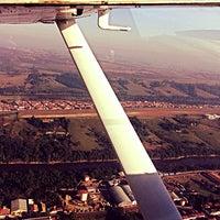Photo taken at Aeroclube de Tietê by Vitor P. on 8/2/2013