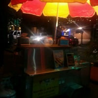 Photo taken at The Hotdog Stand by Jayme F. on 3/9/2013